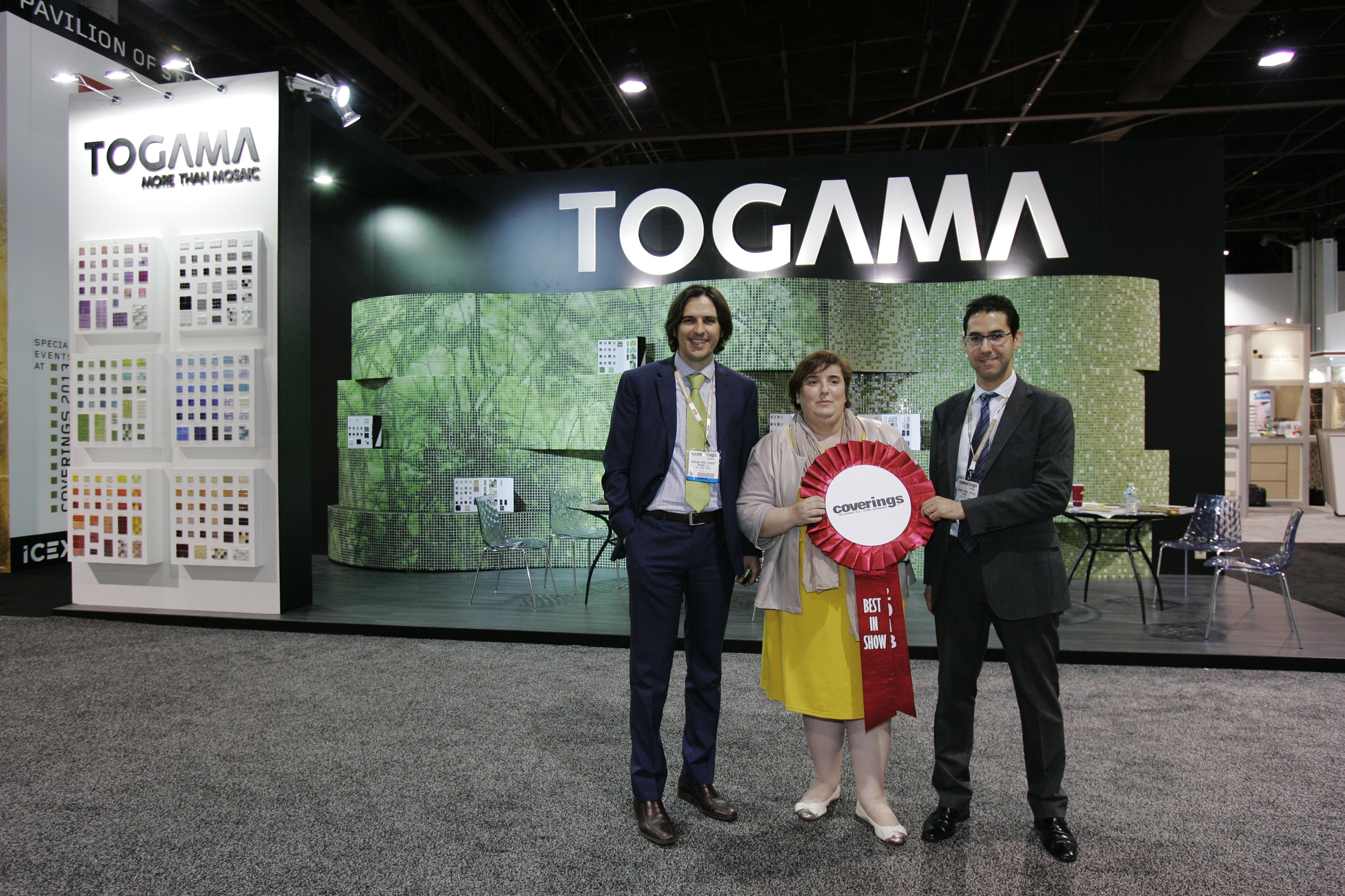 Togama Spanish Tile Company Wins Best In Show At Coverings
