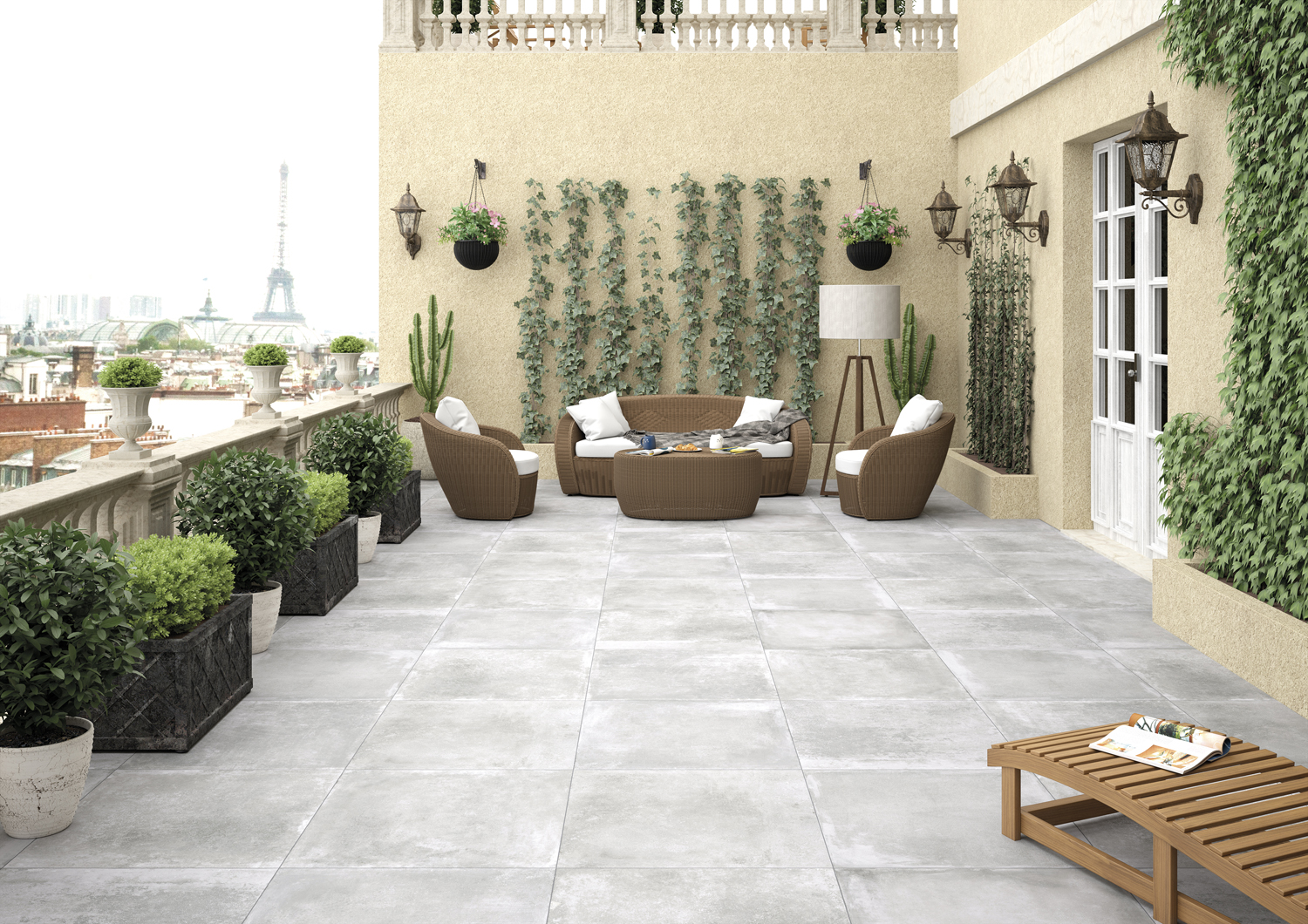 Tile Of Spain In Outdoor Spaces Tileofspainusa Com