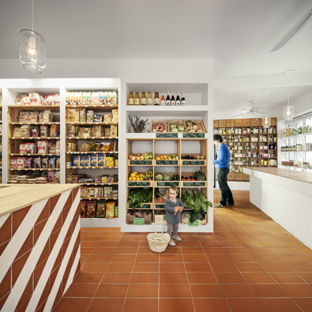 Tile of Spain Award honorable mention:  Bodebo Store by CAVAA. Photo: Jordi Surroca.