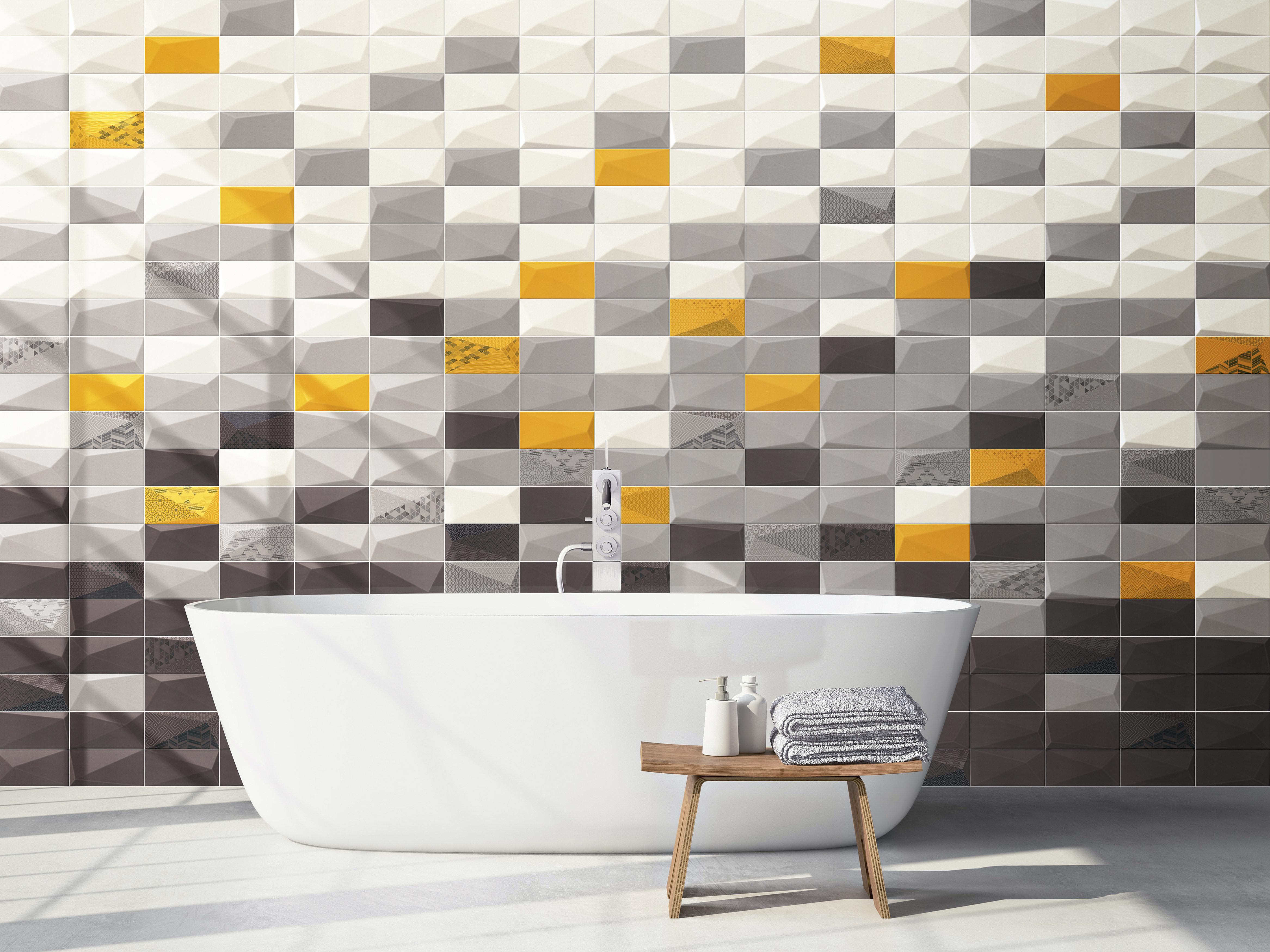 Diamond Series wall tile by Mainzu