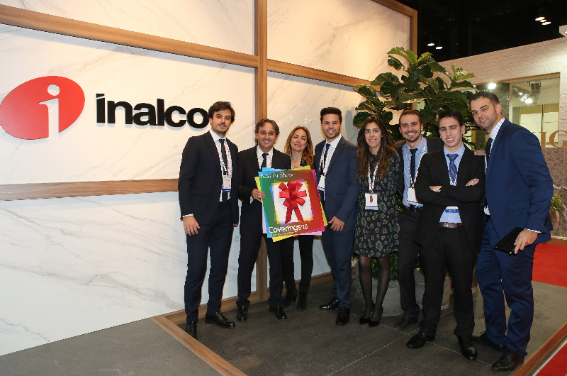 Inalco wins Best Booth