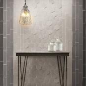 Natucer Art aluminum and hexagon wall tile