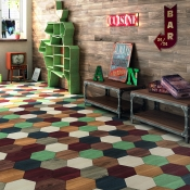 Atlas Hexa Collection from Tile of Spain company Bestile