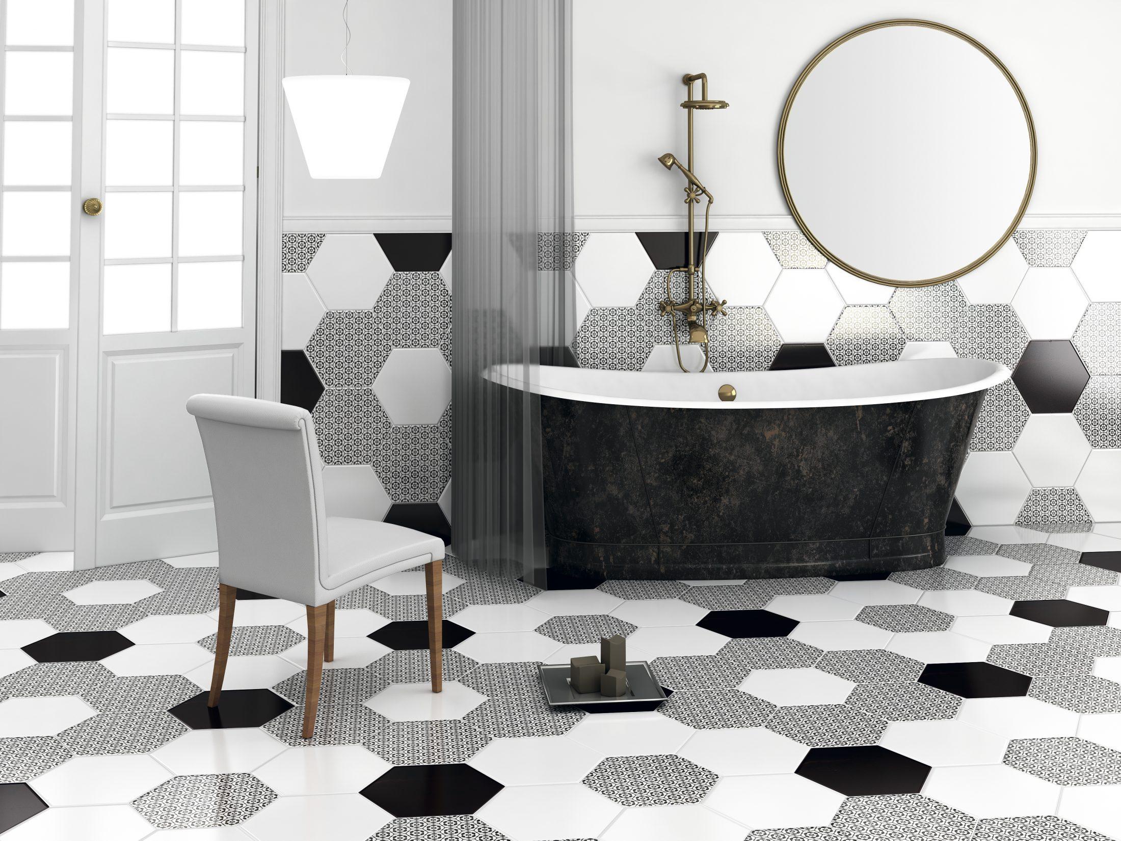 Ceranosa, Chess Series, Black & White