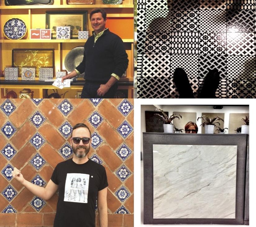 2015 Passport to Creativity Winners: Top: Daniel Cantwell, Jonathan Martinez Bottom: Jason Money, Gloria Graham Sollecito
