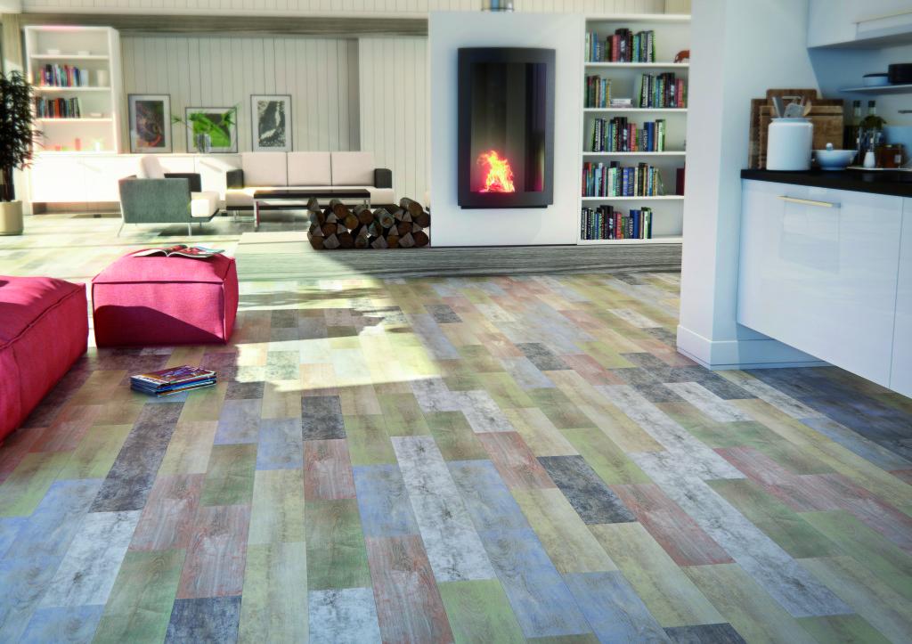 The Carpatos series of floor tile from Bestile.
