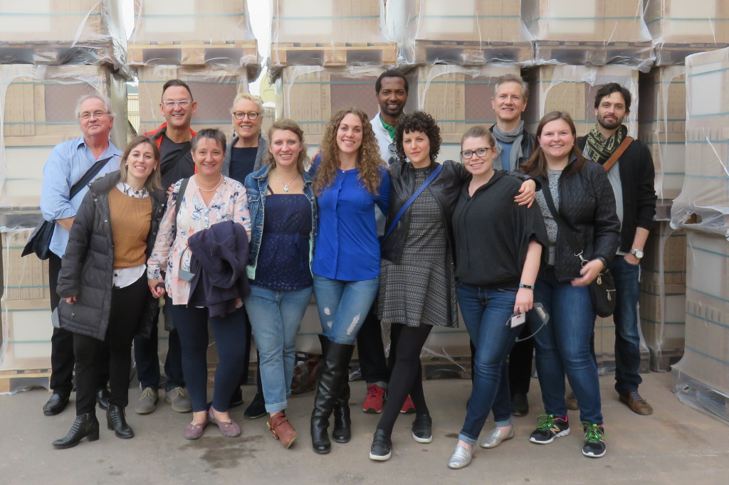 Members of the Tile of Spain 2017 Passport to Creativity Tour