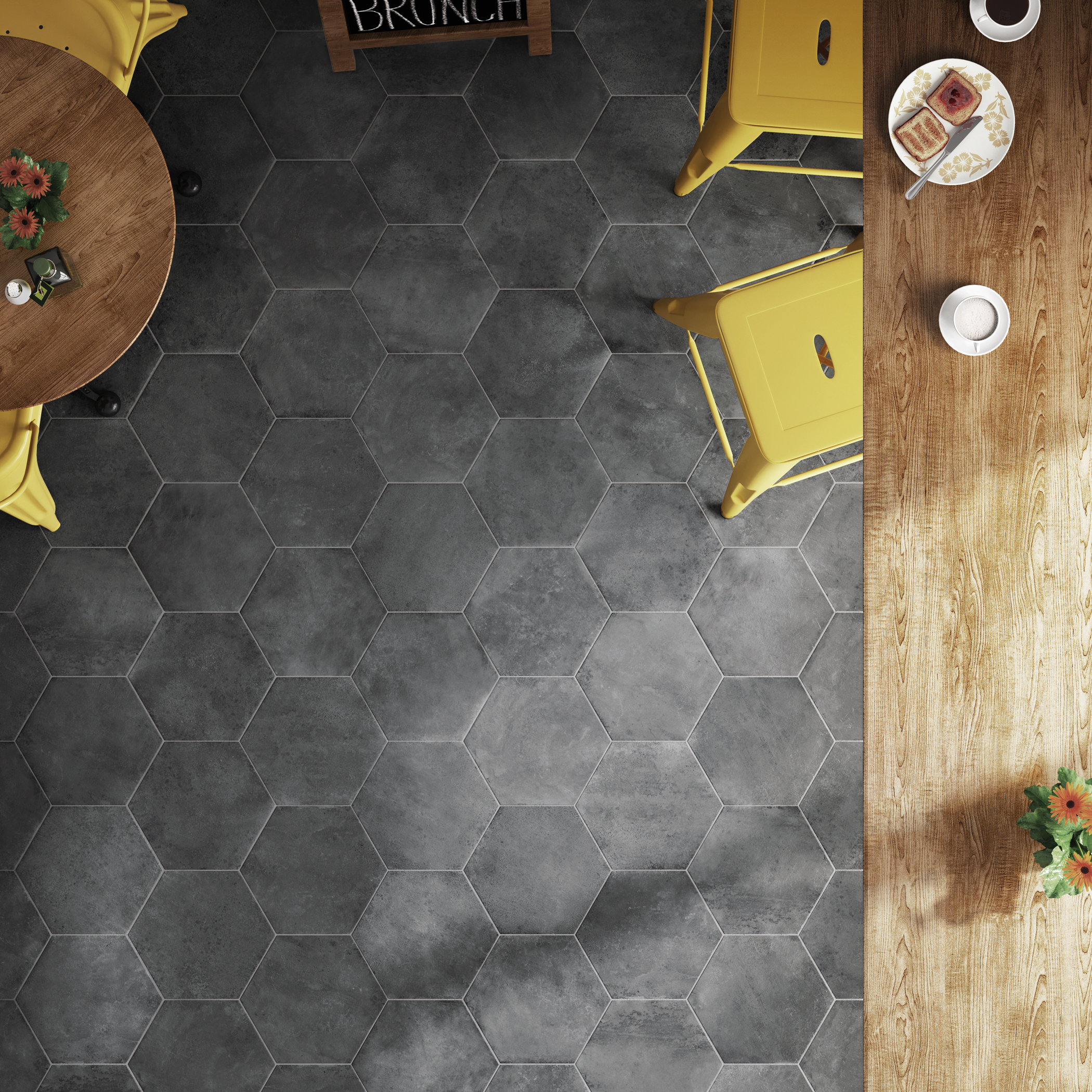 Urban Hexagon Series by Equipe