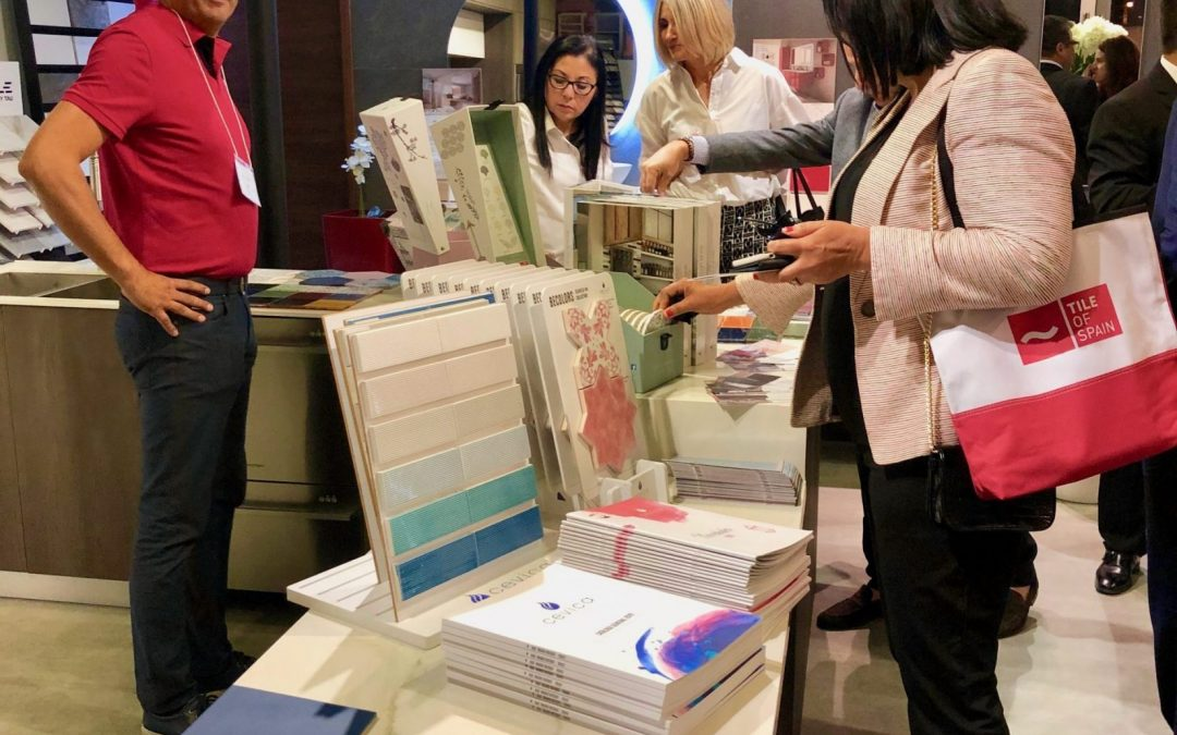 Tile of Spain Partners with Valencia Coverings for a Night of Tile and Trends