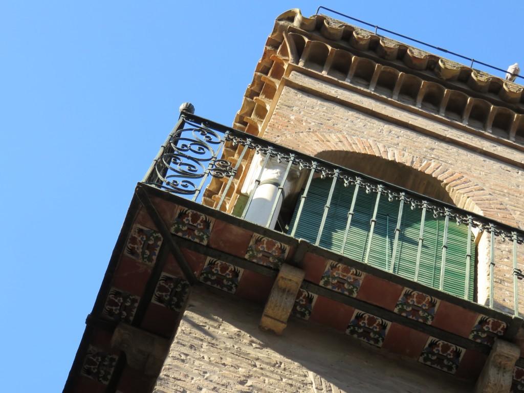 balcony tile bottom Sevilla Spain