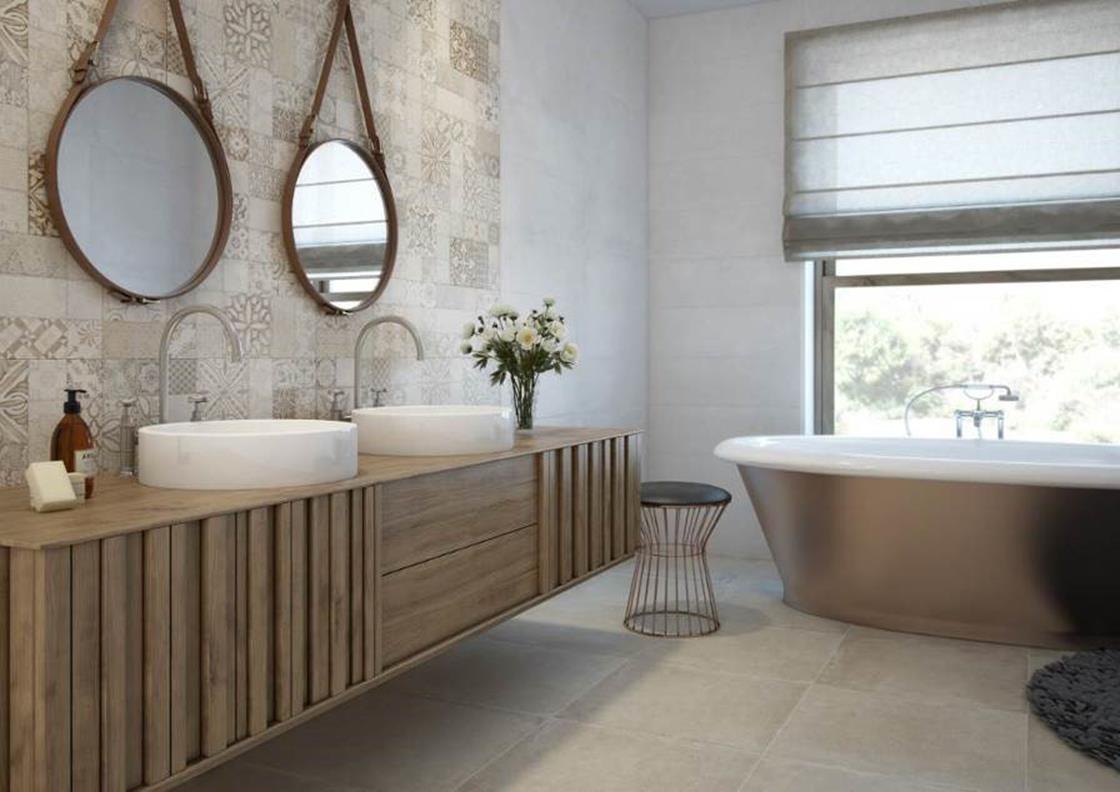 Azuliber – Omat Series. Porcelain floor tiles in 12 X 24 inches