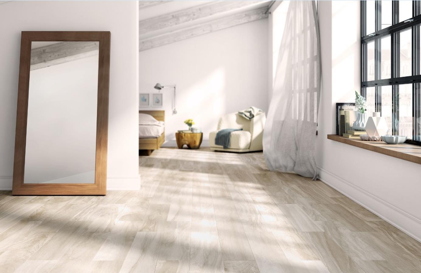 Roca – Series:  October. Ceramic floor tiles in 12 X 24 inches