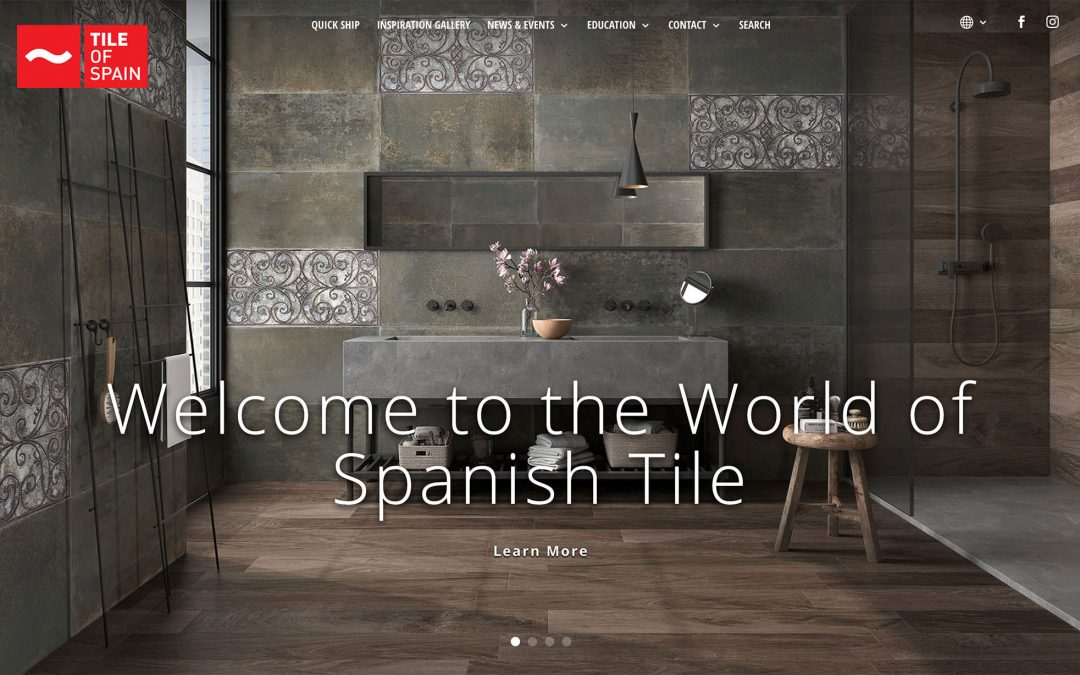 Tile of Spain Announces the Launch of New Website for the U.S.