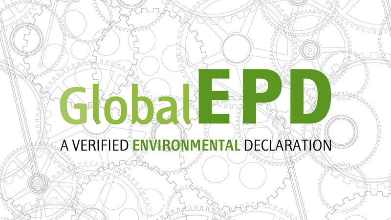 Global EPD - a verified environmental declaration